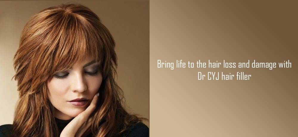 Bring life to the hair loss and damage with Dr CYJ hair filler