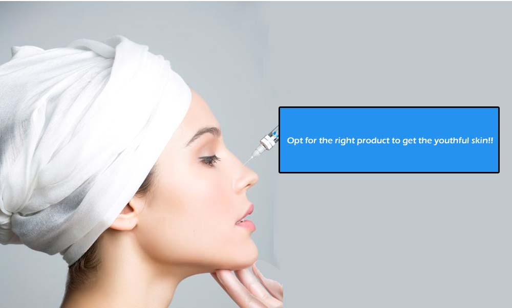 Opt for the right product to get the youthful skin!!